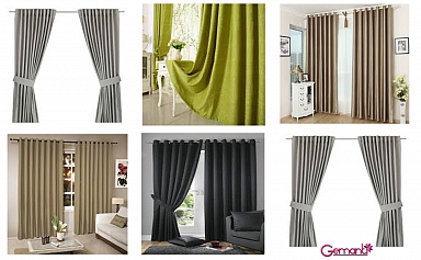 Gemanti Cortinas Black Out 100%